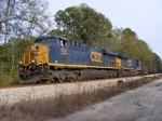 CSX 884 at Norge